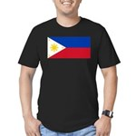 Philippines Men's Fitted T-Shirt (dark)
