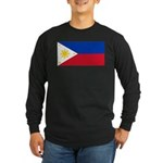 Philippines Long Sleeve Dark T-Shirt