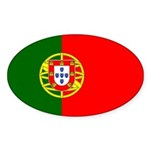 Portugal Sticker (Oval 50 pk)
