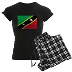 Saint Kitts and Nevis Women's Dark Pajamas
