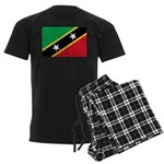 Saint Kitts and Nevis Men's Dark Pajamas