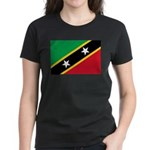 Saint Kitts and Nevis Women's Dark T-Shirt