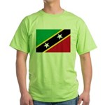 Saint Kitts and Nevis Green T-Shirt