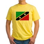 Saint Kitts and Nevis Yellow T-Shirt