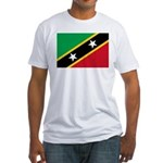 Saint Kitts and Nevis Fitted T-Shirt