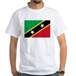 Saint Kitts and Nevis White T-Shirt