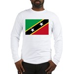 Saint Kitts and Nevis Long Sleeve T-Shirt