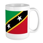 Saint Kitts and Nevis Large Mug