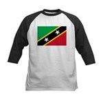 Saint Kitts and Nevis Kids Baseball Jersey