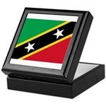 Saint Kitts and Nevis Keepsake Box