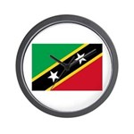 Saint Kitts and Nevis Wall Clock