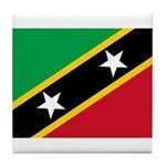 Saint Kitts and Nevis Tile Coaster