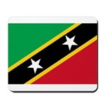 Saint Kitts and Nevis Mousepad