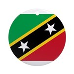 Saint Kitts and Nevis Ornament (Round)