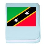 Saint Kitts and Nevis baby blanket
