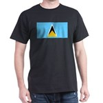 Saint Lucia Dark T-Shirt
