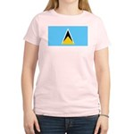 Saint Lucia Women's Light T-Shirt