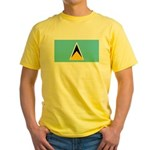 Saint Lucia Yellow T-Shirt