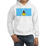 Saint Lucia Hooded Sweatshirt