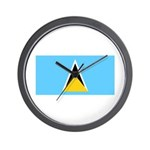Saint Lucia Wall Clock