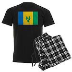 Saint Vincent and the Grenadi Men's Dark Pajamas