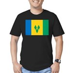 Saint Vincent and the Grenadi Men's Fitted T-Shirt
