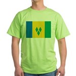 Saint Vincent and the Grenadi Green T-Shirt