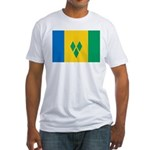 Saint Vincent and the Grenadi Fitted T-Shirt