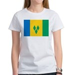 Saint Vincent and the Grenadi Women's T-Shirt