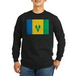 Saint Vincent and the Grenadi Long Sleeve Dark T-S