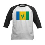 Saint Vincent and the Grenadi Kids Baseball Jersey