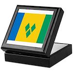 Saint Vincent and the Grenadi Keepsake Box
