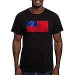 Samoa Men's Fitted T-Shirt (dark)