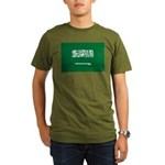 Saudi Arabia Organic Men's T-Shirt (dark)