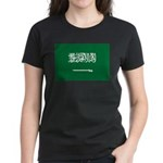 Saudi Arabia Women's Dark T-Shirt
