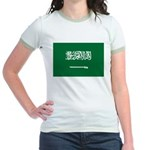 Saudi Arabia Jr. Ringer T-Shirt