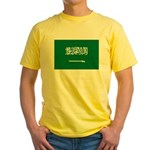 Saudi Arabia Yellow T-Shirt