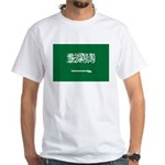 Saudi Arabia White T-Shirt