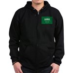Saudi Arabia Zip Hoodie (dark)