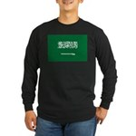 Saudi Arabia Long Sleeve Dark T-Shirt