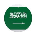 Saudi Arabia Ornament (Round)