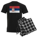 Serbia Men's Dark Pajamas