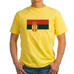 Serbia Yellow T-Shirt