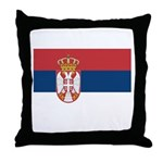 Serbia Throw Pillow