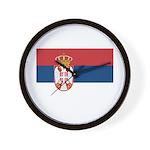Serbia Wall Clock