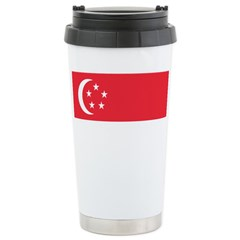 Singapore Ceramic Travel Mug
