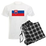 Slovakia Men's Light Pajamas