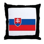 Slovakia Throw Pillow