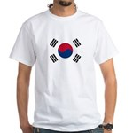 South Korea White T-Shirt