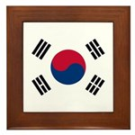 South Korea Framed Tile